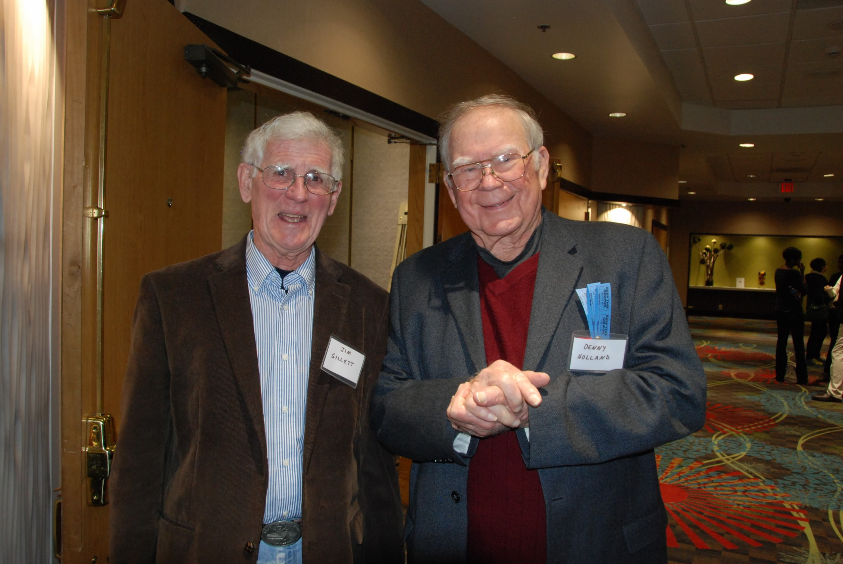 Jim Gillette and Denny Holland