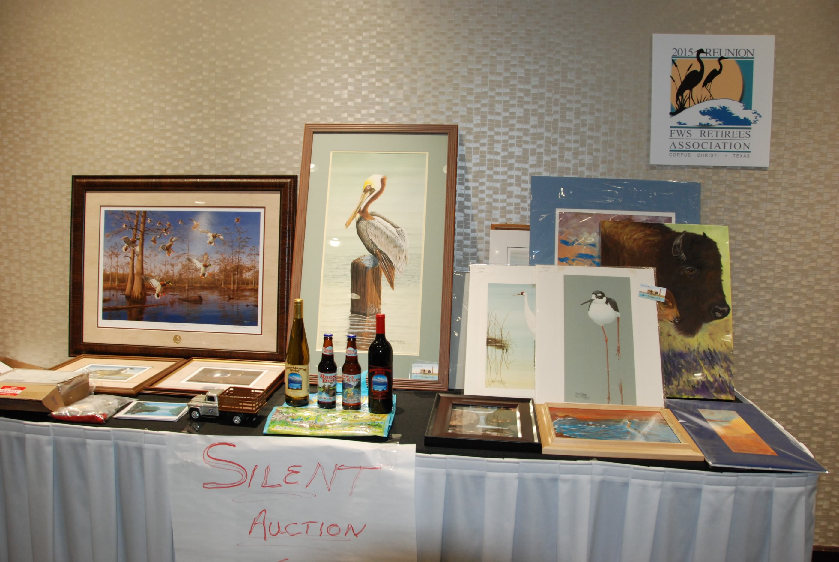 Some of the auction items